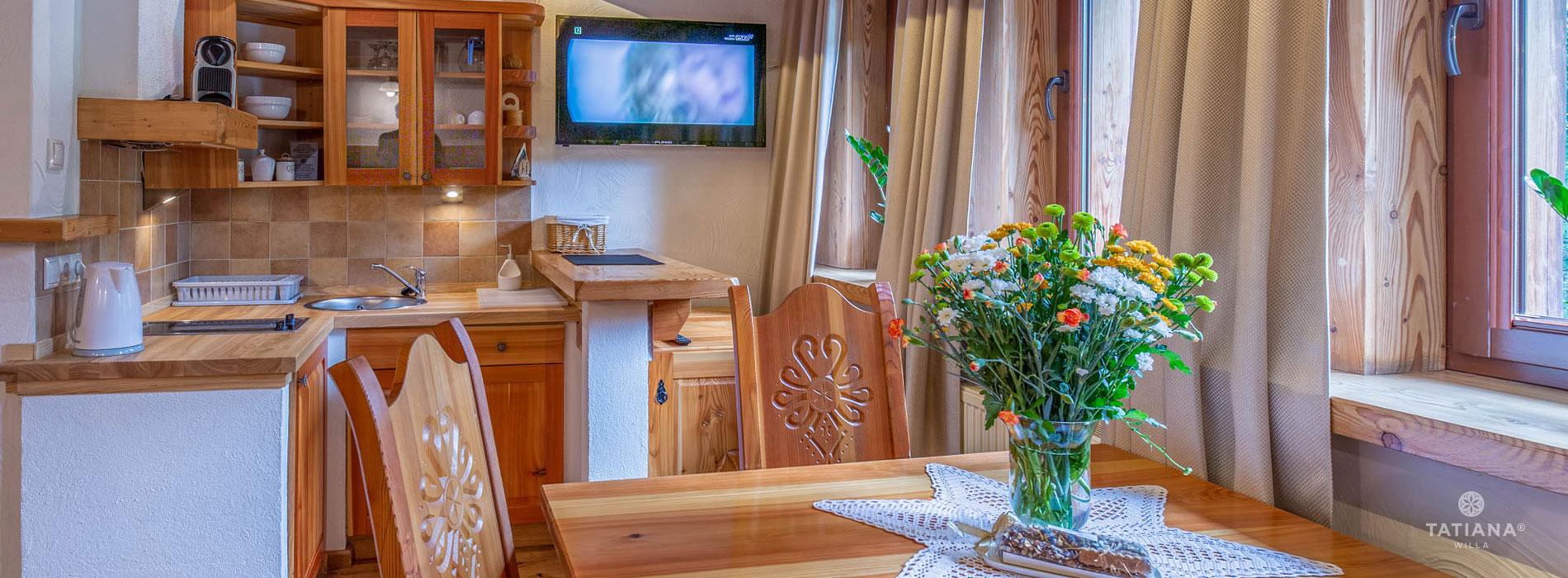 Apartament Premium 2- aneks kuchenny