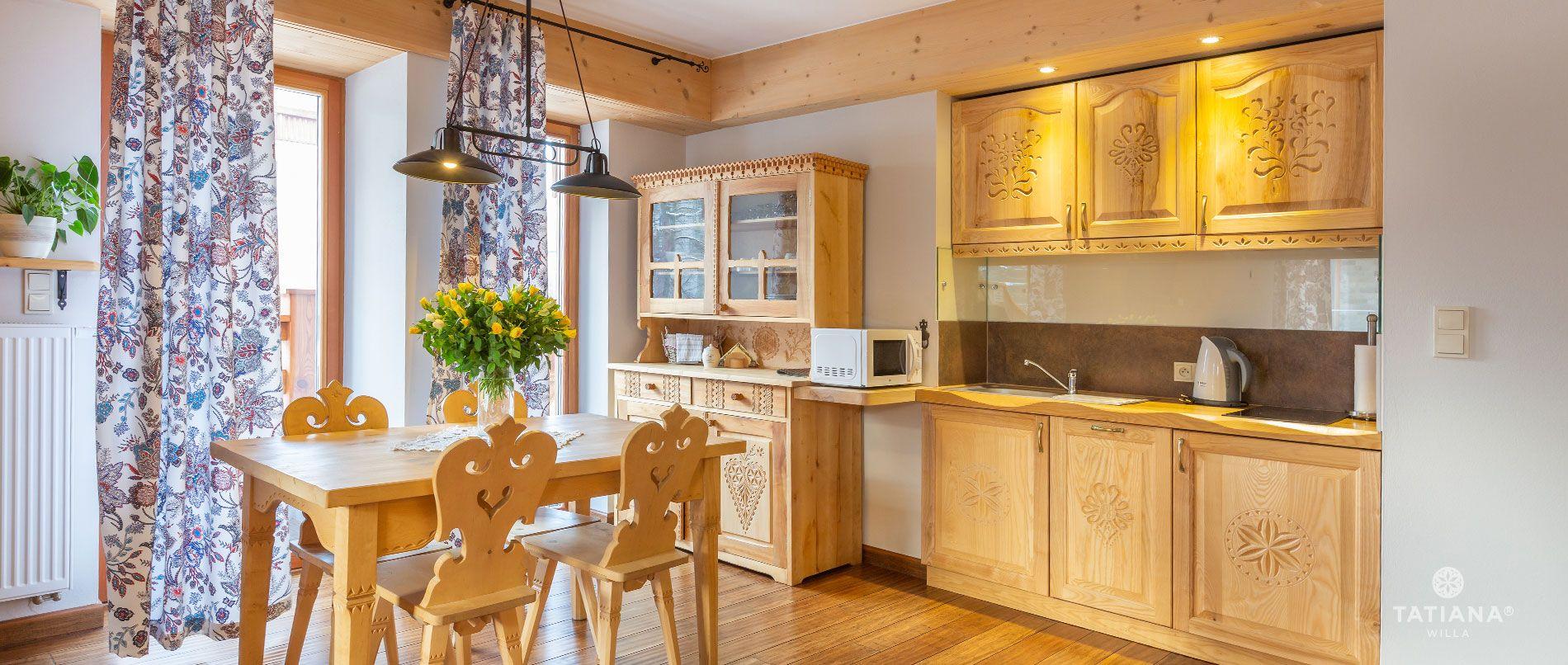 Apartament Lux 12- aneks kuchenny