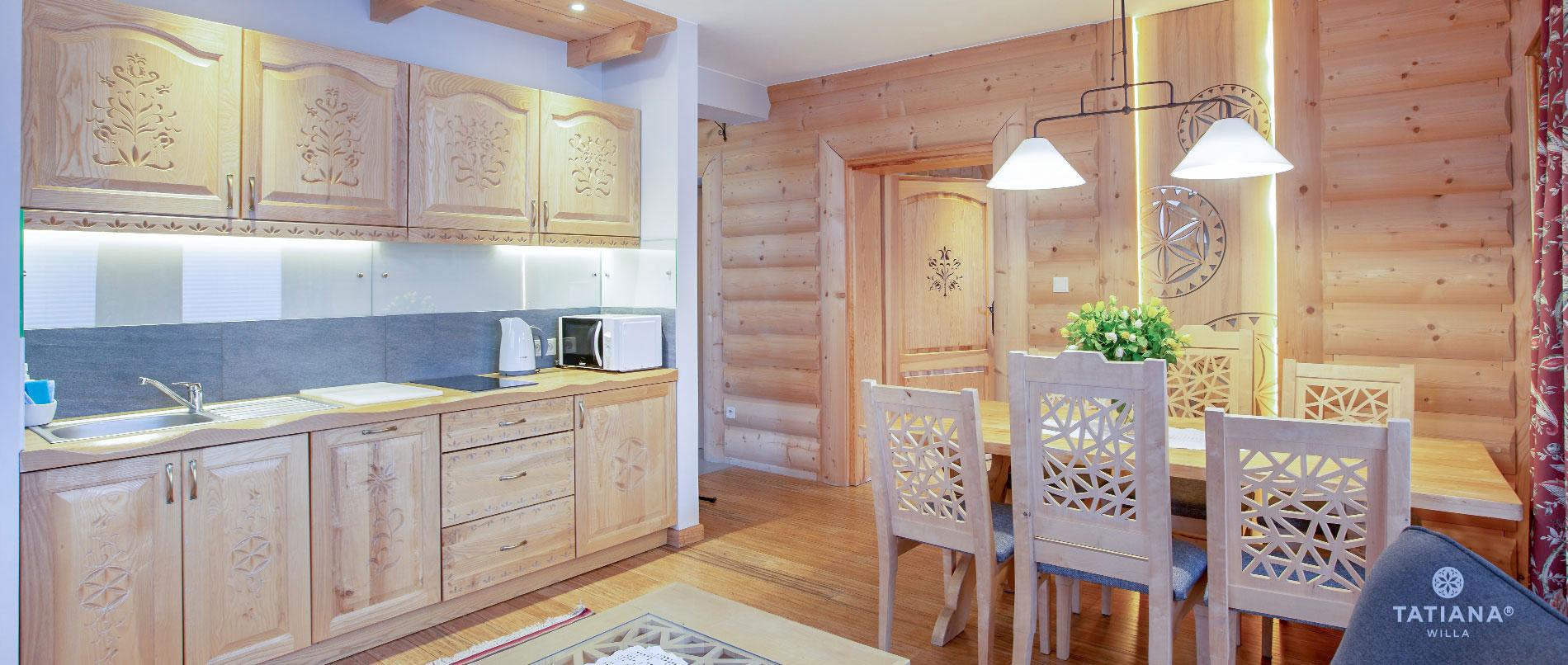 Apartament Lux 17- aneks kuchenny