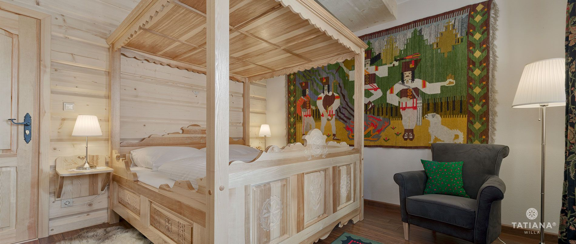 Apartament Lux11- sypialnia
