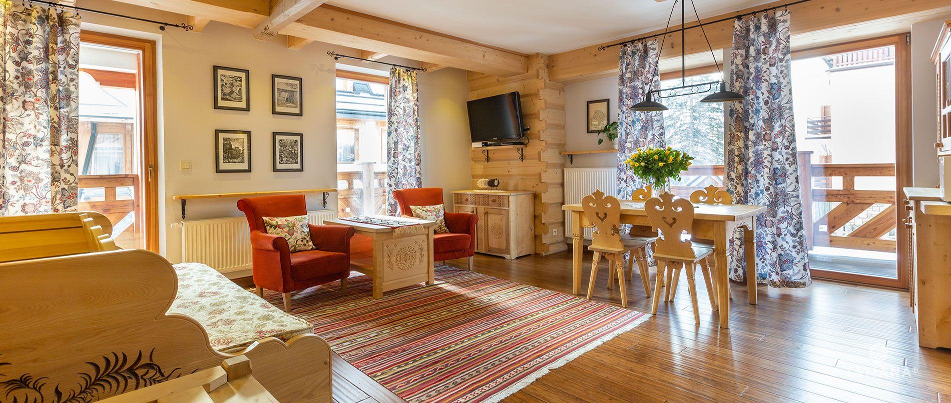 Apartament Lux 12- salon