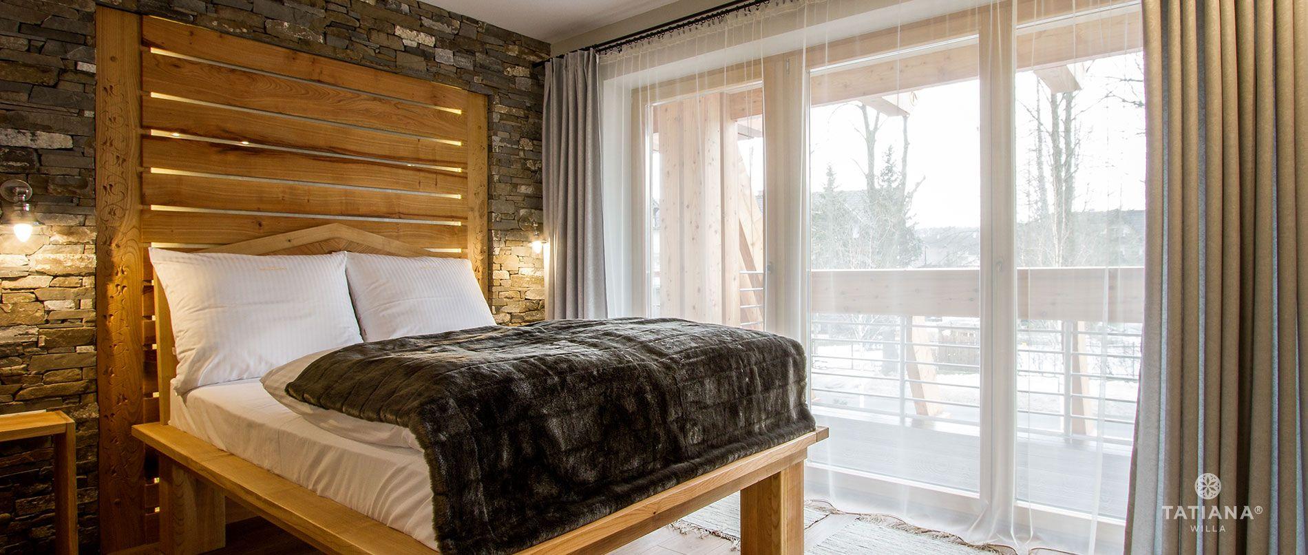 Apartament Czereśniowy- sypialnia