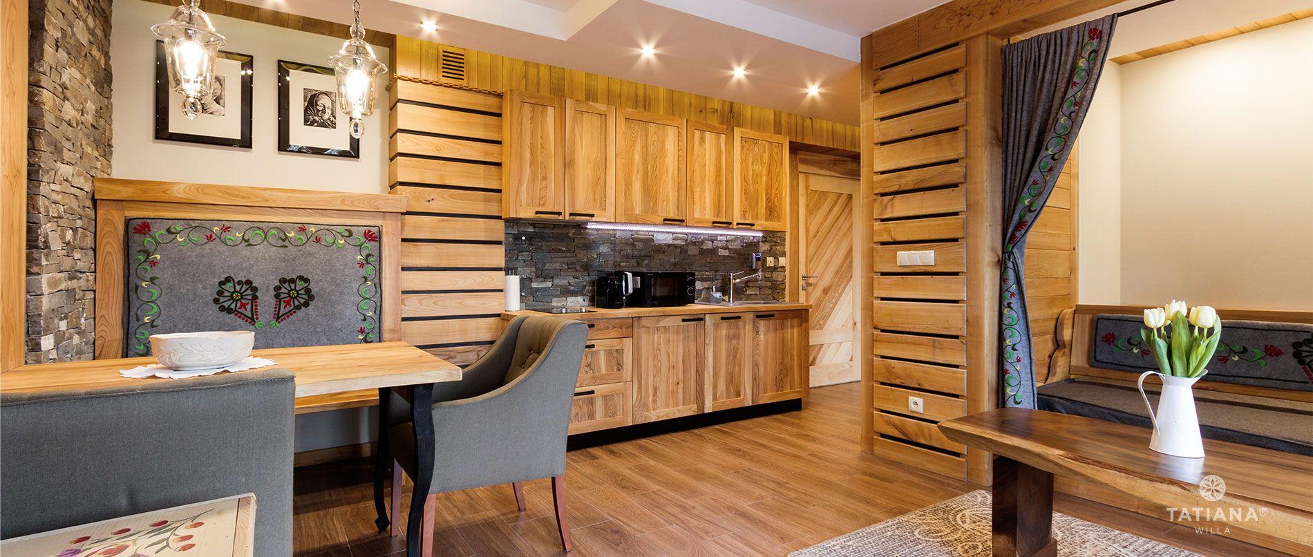 Apartament Czereśniowy- salon