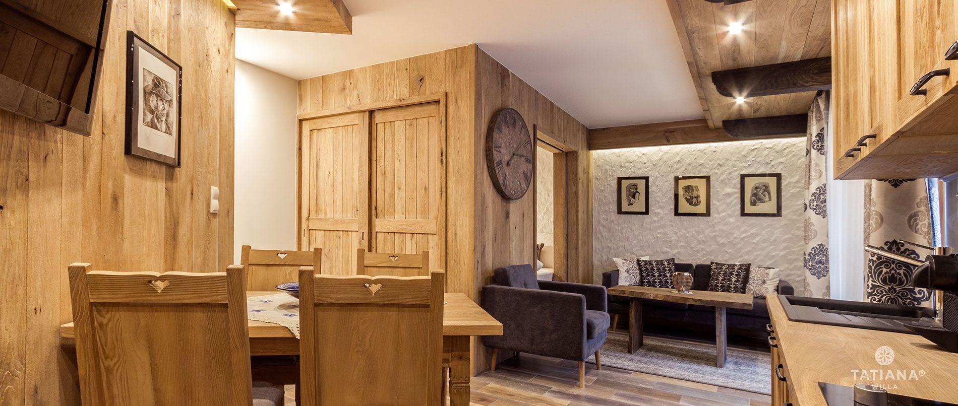 Apartament Stary Dębowy - salon