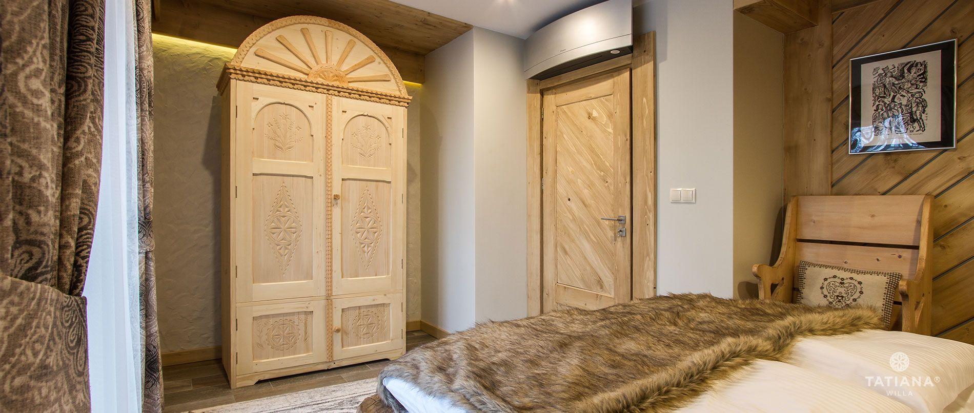 Apartament Stary Smrekowy - sypialnia