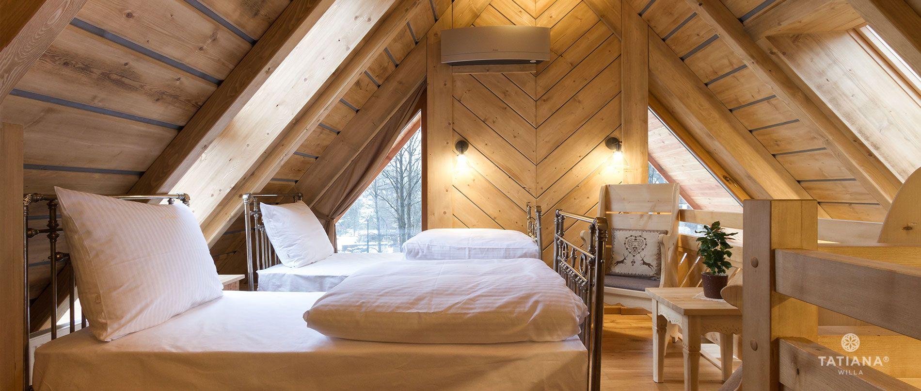 Apartament Stary Smrekowy - druga sypialnia