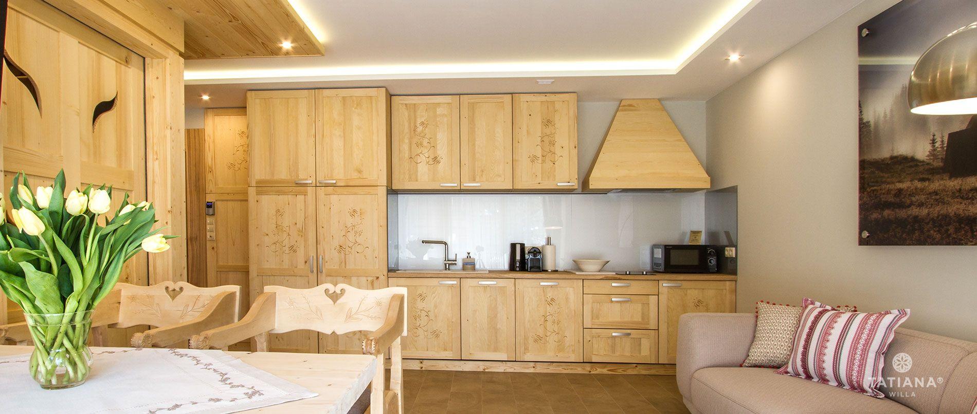 Apartament Sosnowy- aneks kuchenny