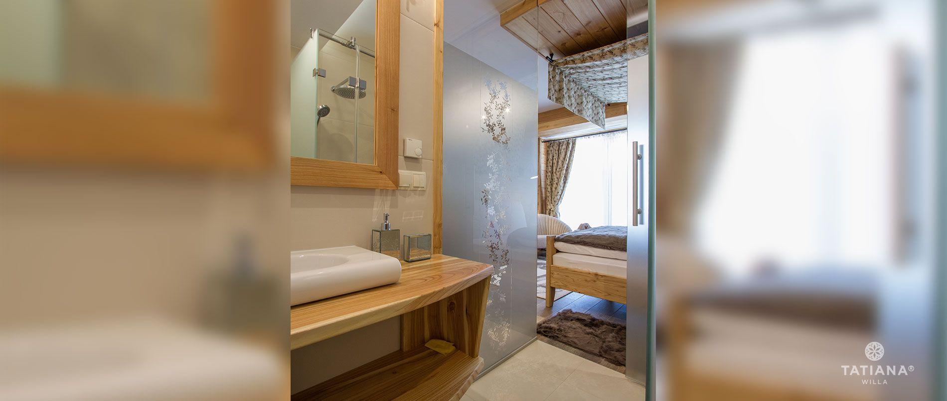 Apartament Modrzewiowy - łazienka
