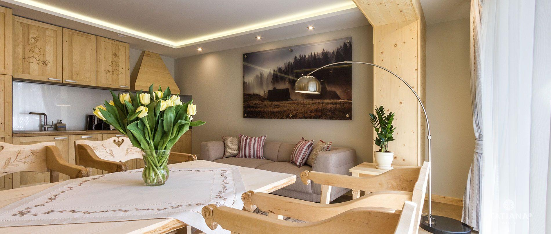 Apartament Sosnowy - jadalnia