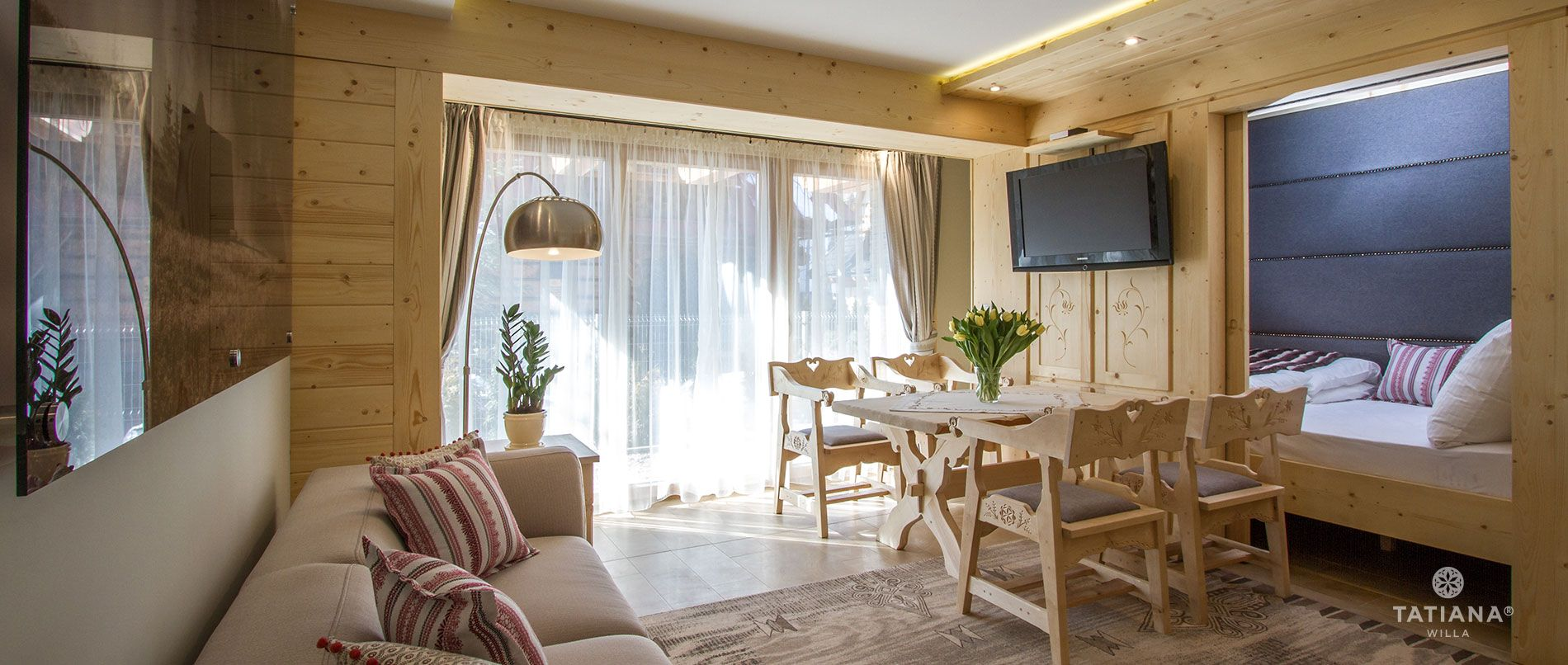 Apartament Sosnowy - salon