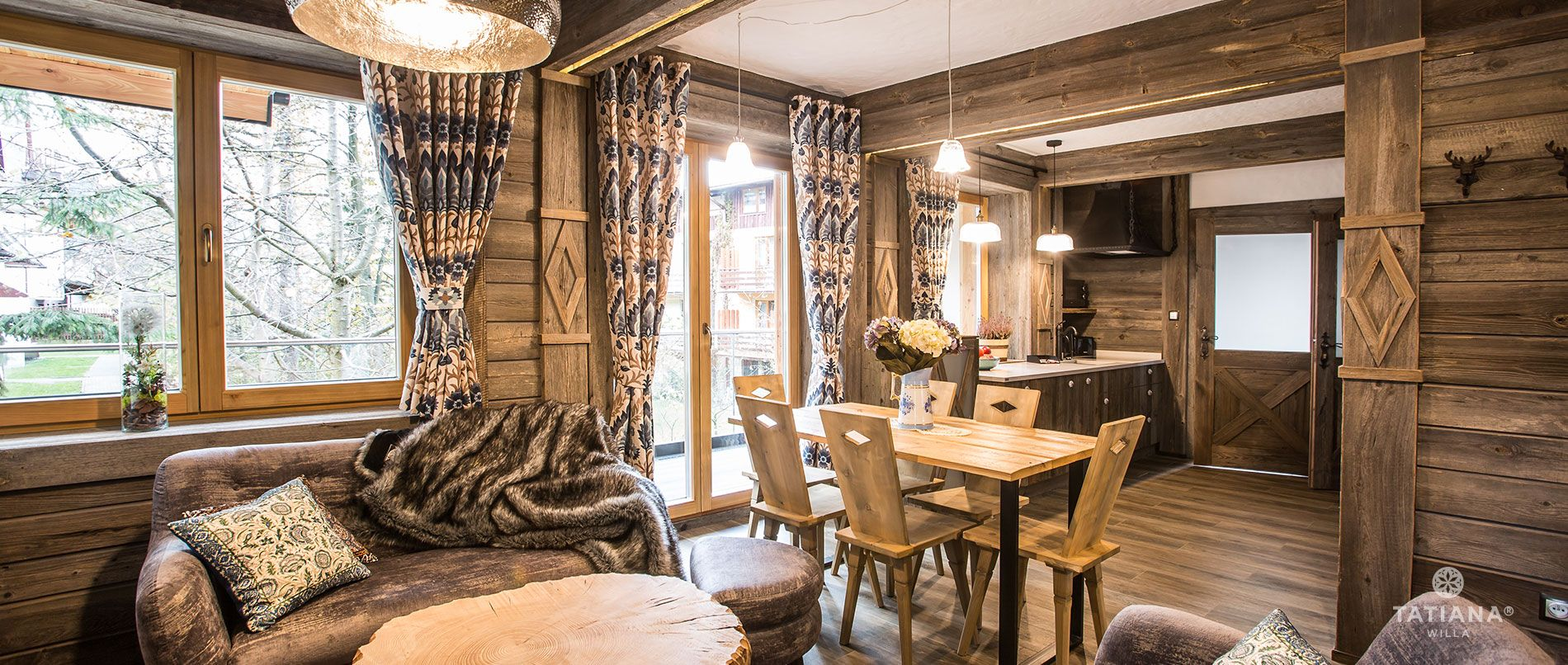 Apartament Syberyjski- salon