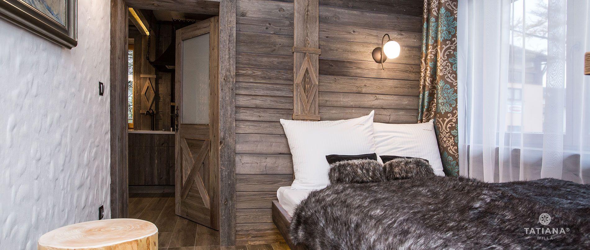 Apartament Syberyjski- sypialnia