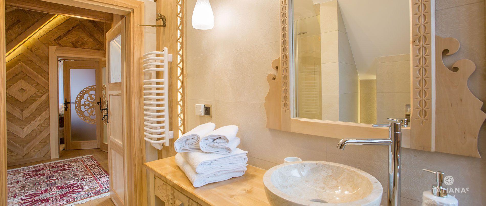 Apartament Tatrzański - druga łazienka