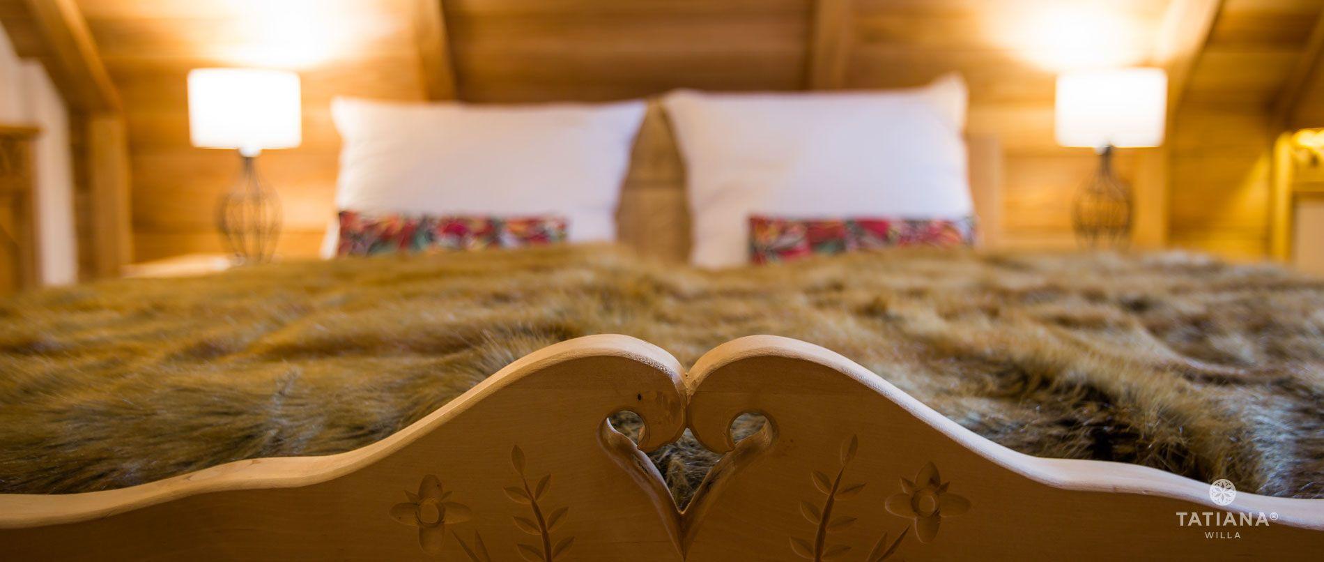 Apartament Tatrzański - łóżko