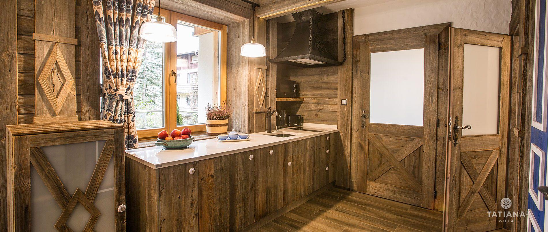 Apartament Syberyjski - kuchnia