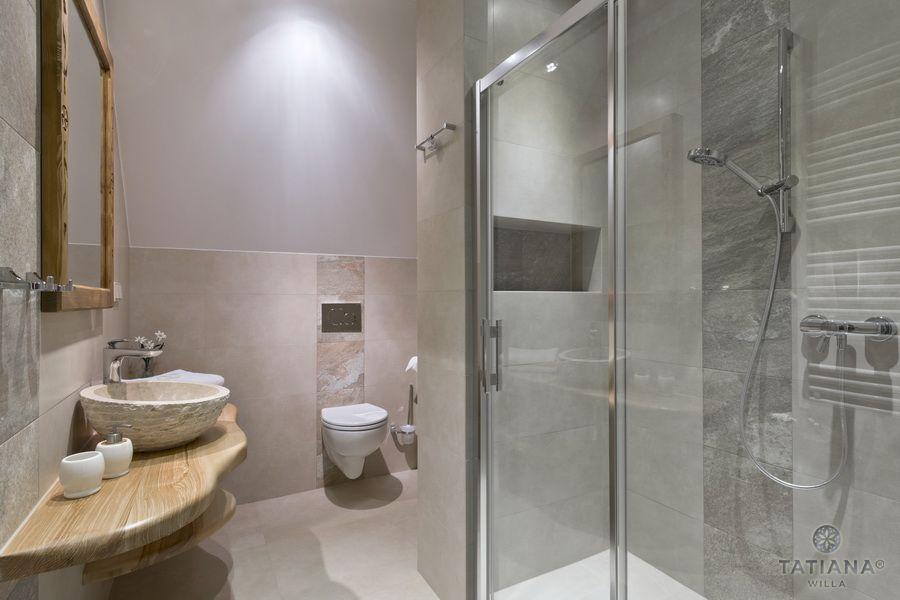 Apartament 16 Willa Tatiana II Zakopane łazienka z marmurem