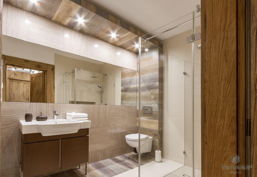 Apartament Debowy Willa Tatiana boutique nowoczesna łazienka