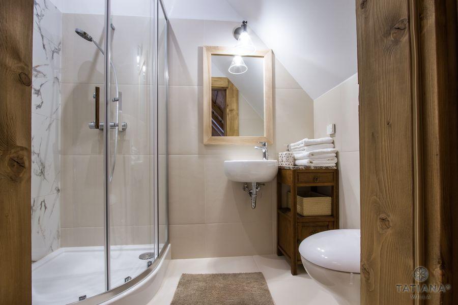 Apartament Smerkowy Willa Tatiana boutique nowoczesna łazienka