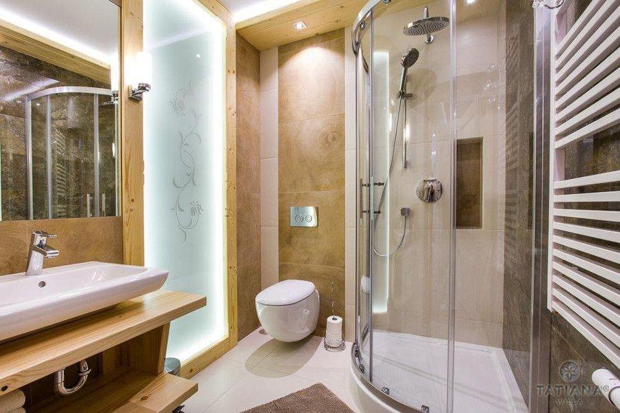 Apartament Sosnowy Willa Tatiana boutique drewniana łazienka