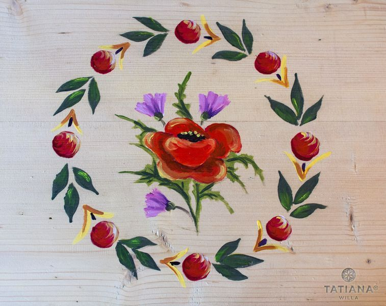 Willa Tatiana boutique malowany mak