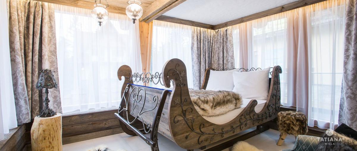apartament syberyjski sypialnia